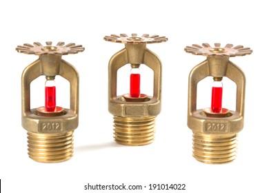 Fire sprinklers
