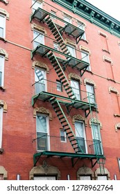 Fire stairs on the New York house