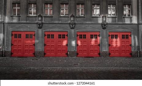 fire Station door