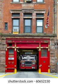 Fire Station in Manhattan
