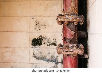 Fire steel pipe corrosion