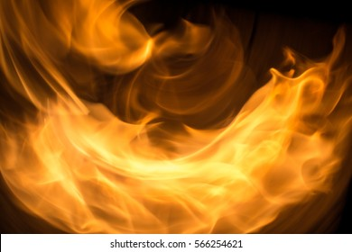 Fire swirl