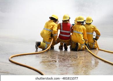 Fire team.