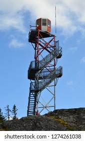 Fire Tower Newfoundland