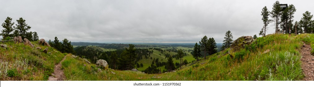 Fire Tower and Panoramic View From Rankin Ridge in Wind Cave National Park
