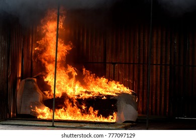 Fire training in the condo