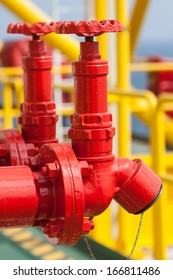 Fire valve,installation of fire safety,Security fire system in industry  or the process
