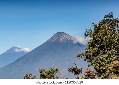 Fire Volcano Guatemala
