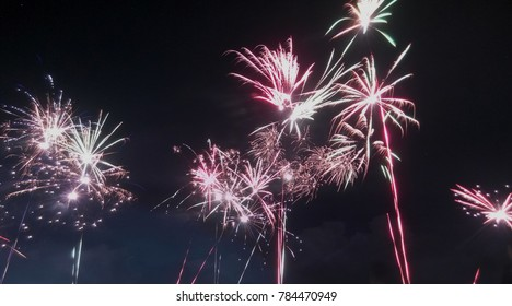 fire work 2018 new year