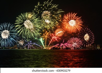Fire Works in Japan