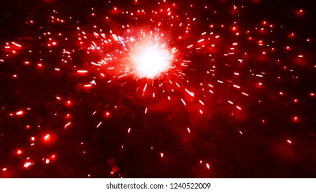 firecrackers at night,Deewali celebration