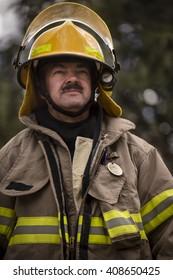 Firefighter close.