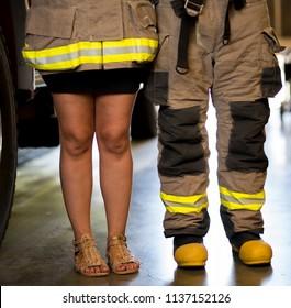 Firefighter engagement love