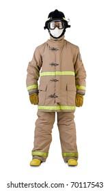 firefighter in a fireman uniform