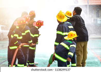 Firefighter training, The Employees Annual training Fire fighting for kit