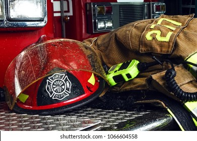 Firefighter truck and equipment