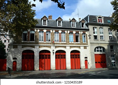 Firehouse In Paris France
