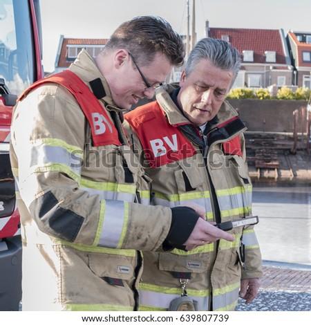 Giving for fireman