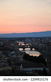 Firenze and the sunset
