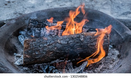 Firepit in the Cold