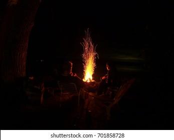 Firepit Sparks