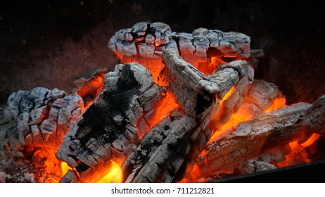fireplace and ember