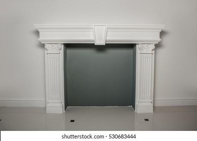 Fireplace mantel or mantelpiece