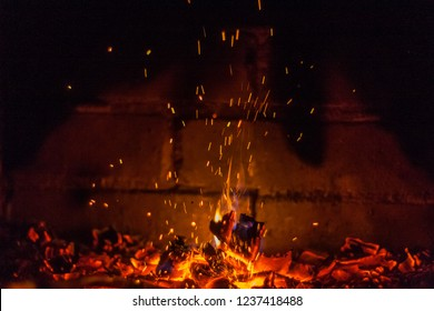 Fireplace fireplace or stove great antidepressant