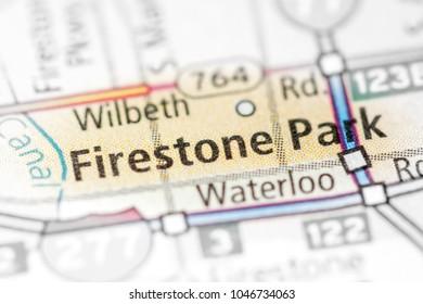 Firestone Park. Ohio. USA