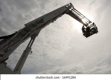 Firetruck crane