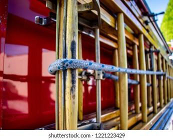 Firetruck Ladder Attached To Firetruck