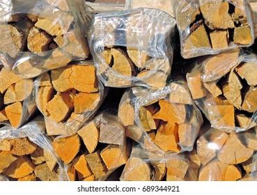 Firewood - Shutterstock ID 689344921