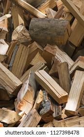 Firewood of beech