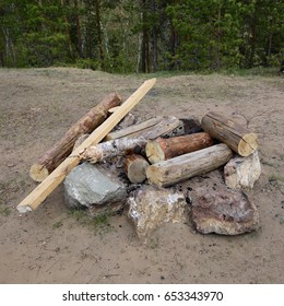 Firewood for fire.