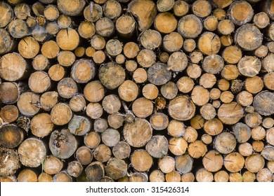 Firewood round stabled