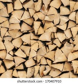 Firewood - tile - Seamless Image