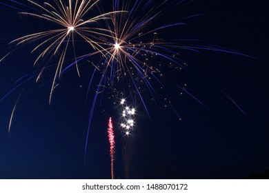 firework display, explosion of dazzling light