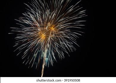 firework festival for anniversary.