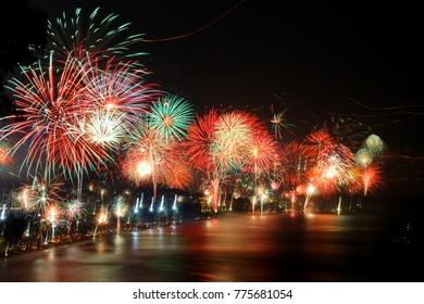 Firework New Year Party