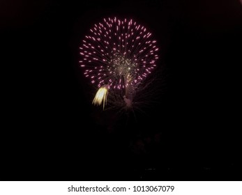 firework summer night