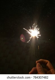 fireworks bright in the darkness