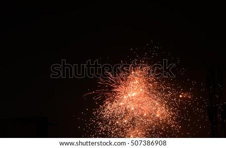 fireworks crackers sky shots celebration wallpaper greeting background