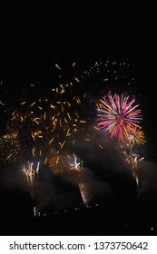 Fireworks festival Skyrocket