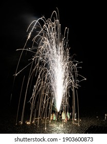 Fireworks Fountain New Years Eve