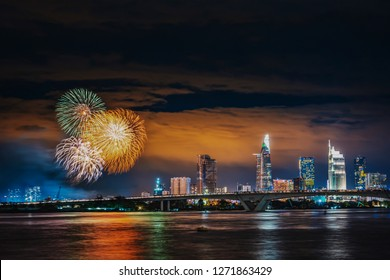 Fireworks - Happy new year 2019