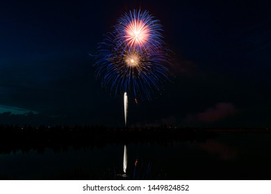 Fireworks from independence day 2019