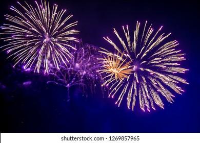 Fireworks Leeds Castle