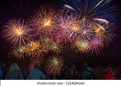 Fireworks lights series