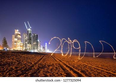 Fireworks NYE Gold Coast