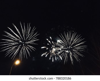 fireworks on holiday.